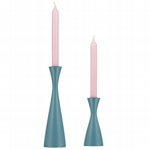 Wooden Candleholder - 2 Sizes - Pompadour